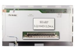 Sharp LQ164D1LD4A HD+ 1600x900 WXGA++ gyári új fényes laptop kijelző