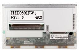 Gyári új matt 8.9'' (1024x600) LED laptop kijelző (csatlakozó 30 pin - bal)
