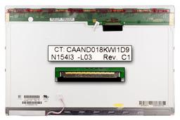 Chi-Mei N154I3-L03 15.4-inch használt fényes laptop kijelző