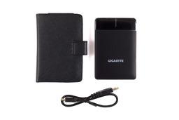 Gigabyte 2.5 320GB USB külső HDD bőrtokkal