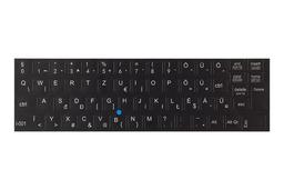 3M fekete kopásálló gyári minőségű magyar bevonat fehér betűvel, IBM Lenovo laptopokhoz, I-001