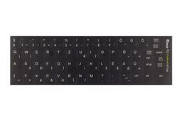 3M fekete kopásálló gyári minőségű magyar bevonat fehér betűvel, HP ProBook laptopokhoz, ProBook 470