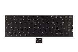 3M fekete kopásálló gyári minőségű magyar bevonat fehér betűvel, Lenovo IdeaPad G560, G565 laptopokhoz, L-006