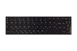 3M fekete kopásálló gyári minőségű magyar bevonat fehér betűvel Samsung laptopokhoz