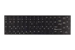 3M fekete kopásálló gyári minőségű magyar bevonat fehér betűvel, trackpointtal, HP laptopokhoz, H-002
