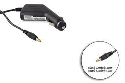 9V 1.5A 13.5W 4mm/1mm helyettesítő autós tablet töltő