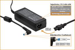 Acer Travelmate 4222 19V 3,42A 65W-os laptop töltő