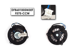 Acer Aspire 1300, TravelMate 240, Dell Inspiron 1300, B130, Latitude 120L használt laptop hűtő ventilátor (DFB601005M30T, F575-CCW)