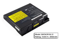 Acer Aspire 1400, Toshiba Satellite 1900,1905 gyári új 12 cellás laptop akku/akkumulátor (BATACR10L12)