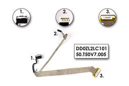 Acer Aspire 1640, 1690, 5000 laptophoz LCD kábel, DD0ZL2LC101, 50.T50V7.005