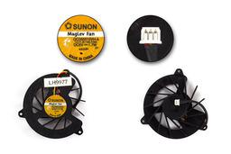 Acer Aspire 1670, 1672WLMi, Travelmate 2200, 2700 gyári új laptop hűtő ventilátor (GC055515VH-A)