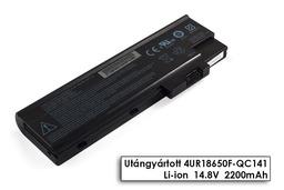 Acer Aspire 3000, 5000, Travelmate 5310 használt 4 cellás 50%-os laptop akku/akkumulátor (4UR18650F-QC141)