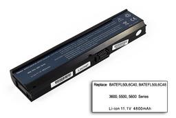Acer Aspire 3030, 5030, Travelmate 4310 helyettesítő új 6 cellás laptop akku/akkumulátor (BATEFL50L6C40)