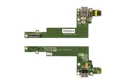Acer Aspire 3050, 5050 laptophoz használt bekapcsoló/DC/USB panel, power buttom/DC/USB board, DA0ZR1PB6D1