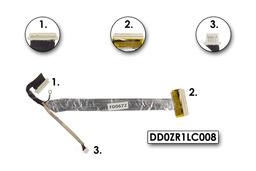 Acer Aspire 3050, 5050 laptophoz használt kijelző kábel, LCD cable, DD0ZR1LC008