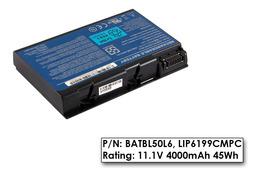 Acer Aspire 3100, 5100 használt 6 cellás 50%-os laptop akku/akkumulátor (BATBL50L6)