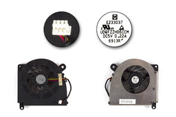 Acer Aspire 3100, 5100 használt laptop hűtő ventilátor (UDQFZZH06CCM)