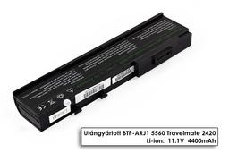 Acer Aspire 3620, Travelmate 2420, 6292 helyettesítő új 6 cellás laptop akku/akkumulátor (BTP-ARJ1)