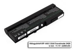 Acer Aspire 3620, Travelmate 2420, 6292 helyettesítő új 9 cellás laptop akku/akkumulátor (BTP-ANJ1)