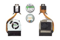Acer Aspire 3820T, 3820TG laptop processzor hűtő ventilátor egység, 60.4HL09.001, MG60070V1-B020-S99