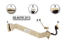 Acer Aspire 4315, 4710 használt kijelző kábel, LCD cabel 50.4U701.011
