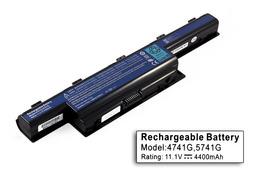 Acer Aspire 5552 laptop akkumulátor, új, gyárival megegyező minőségű helyettesítő, 6 cellás (4400mAh)