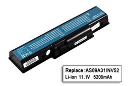 Acer Aspire 4732, 5332, 5735, 5732 helyettesítő laptop akku/akkumulátor  6 cellás, 4400mAh, 49Wh, AS09A31, AS09A41, AS09A61, AS09A75