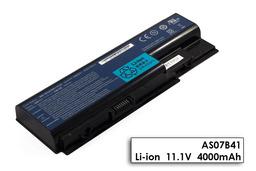 Acer Aspire 5220, 5315, 5500, Travelmate 7730 használt 6 cellás 50%-os gyári laptop akku/akkumulátor (AS07B31, AS07B41)