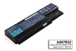 Acer Aspire 5220, 5315, 5720 használt 8 cellás 75%-os laptop akku/akkumulátor (AS07B32)
