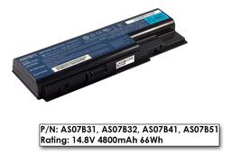 Acer Aspire 5220, 5720, Travemate 7230 használt gyári 50%-os, 8 cellás laptop akku/akkumulátor (AS07B72)