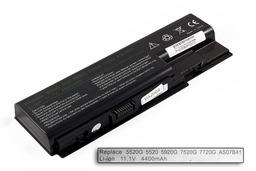 Acer Aspire 5942G laptop akkumulátor, új, gyárival megegyező minőségű helyettesítő, 6 cellás (4400-5200mAh)