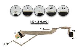 Acer Aspire 5235, 5735 gyári új LCD kijelző kábel, webkamera csatlakozóval (50.ATR01.003)