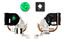 Acer Aspire 5251, 5551, 5550G gyári új laptop hűtő ventilátor (AB7905MX-EB3)