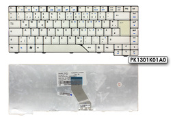 Acer Aspire 5315 fehér német  laptop billentyűzet