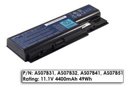 Acer Aspire 5315, 5520, 5920 használt 70%-os 6 cellás laptop akku/akkumulátor (AS07B51)