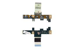 Acer Aspire 5332, 5516 és Acer Emachines E525, E725 használt bekapcsoló panel kábellel, power button board with cable, LS-4851P