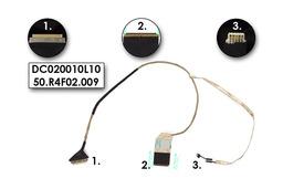 Acer Aspire 5336, 5552, 5741 gyári új laptop LCD kábel, DC020010L10, 50.R4F02.009