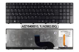 Acer Aspire 5410, 5733, 5738, 5810 gyári új magyar matt fekete háttérvilágításos laptop billentyűzet (AEZY8400010)