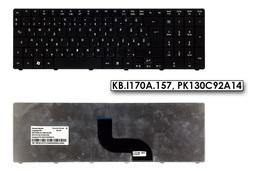 Acer Aspire 5410, 5733, 5738, 5810 gyári új magyar matt fekete laptop billentyűzet (Win7) (KB.I170A.157, PK130C92A14)