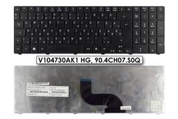Acer Aspire 5410, 5733, 5738, 5810 használt magyar matt fekete laptop billentyűzet