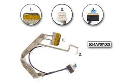 Acer Aspire 5560, 5590 laptophoz gyári új 14,1 CCFL-es kijelzőhöz való LCD kábel, webkamera csatlakozóval (50.ABAV1.001, 50.4A909.002)