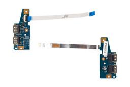 Acer Aspire 5560G használt USB panel kábellel, USB board with cable, 48.4M602.011