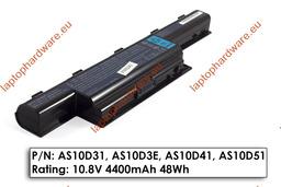 Acer Aspire 5736, 5741, 5742 Packard Bell TK81, TM81 használt 6 cellás laptop akku/akkumulátor 80%-os (AS10D51)