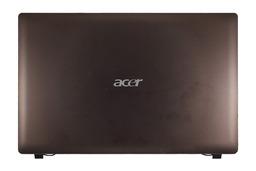 Acer Aspire 5742 laptophoz használt LCD hátlap barna, LCD back cover brown, AP0FO000120