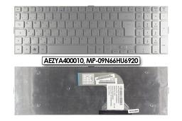 Acer Aspire 5943, 8943, 8950 gyári új ezüst magyar laptop billentyűzet (AEZYA400010)