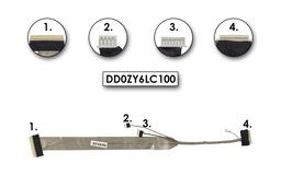 Acer Aspire 7230, 7530 gyári új LCD kijelző kábel, DD0ZY6LC100