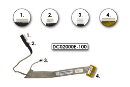Acer Aspire 7520, 7520Z, 7520ZG, 7720 DC02000E-100 (17'') használt LCD kábel