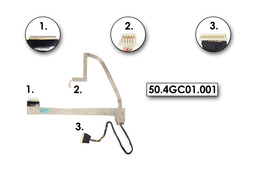 Acer Aspire 7740 laptop LCD kijelző kábel (50.4GC01.001)
