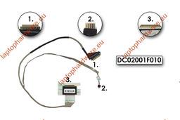 Acer Aspire E1-531, V3-531, E1-571, V3-571 használt laptop LCD kijelző kábel, DC02001F010