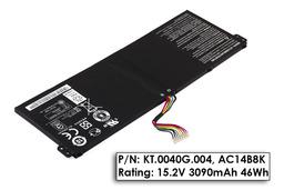 Acer Aspire E3-111, Chromebook CB5-311, Travelmate B115-M gyári új 4 cellás laptop akkumulátor, KT.0040G.004
